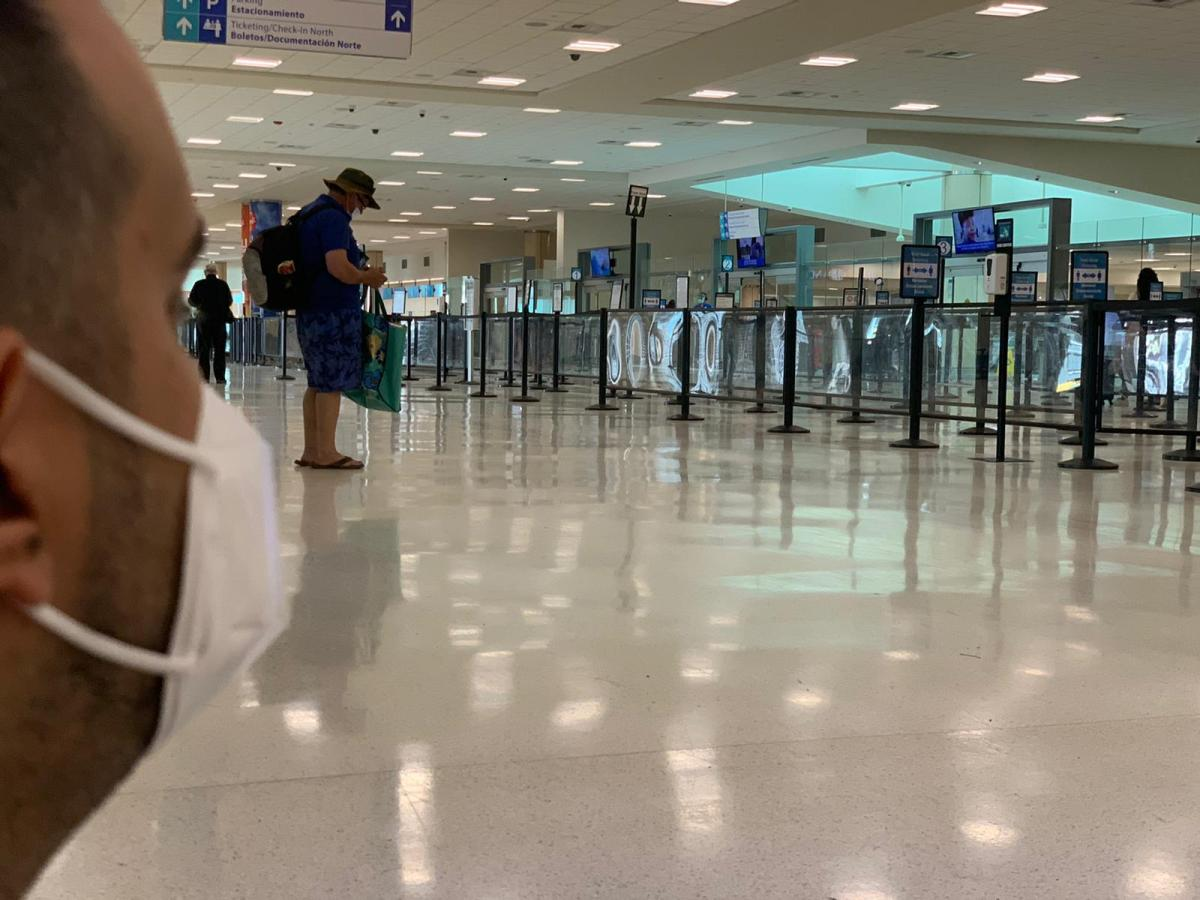 Covid 19 aeropuerto puerto rico