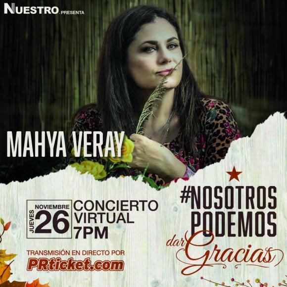 """Con su latin fusion, Mayha Veray presentará parte de su disco """"Remenéate"""" ante su gente"""