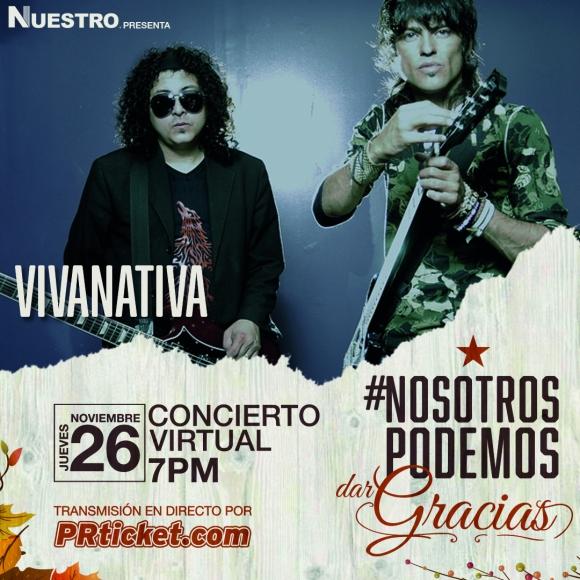 Javier y Nabeel de Vivanativa presentarán varios de sus temas en acústico