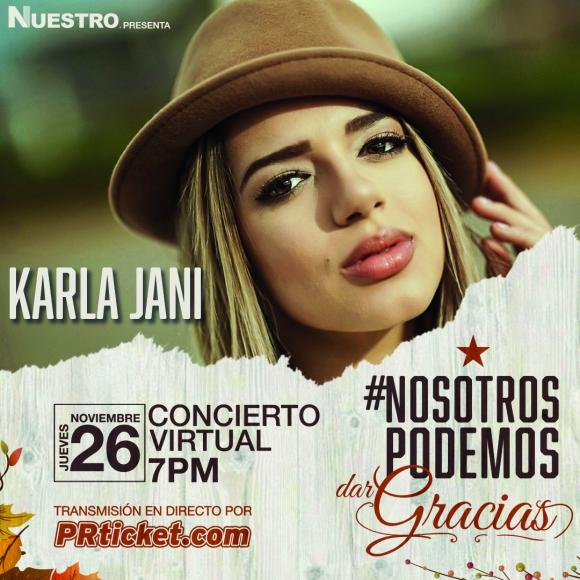 Karla Jani interpretará dos de sus nuevos temas de música urbana