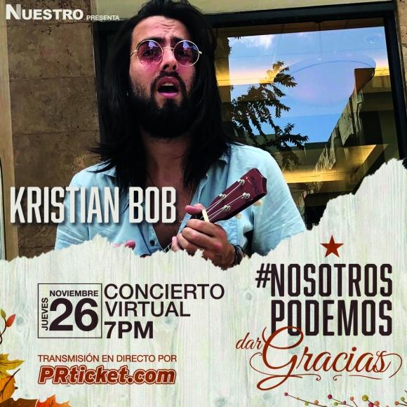Kristian Bob interpretará varios de sus sencillos en directo