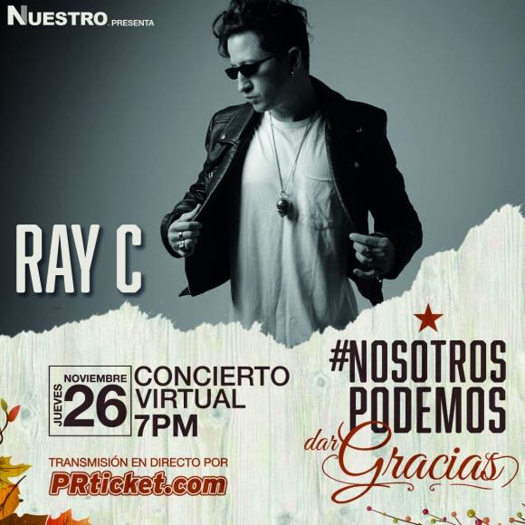 """Ray C fue el compositor del tema """"Nosotros Podemos"""" y presentará su nuevo proyecto musical"""